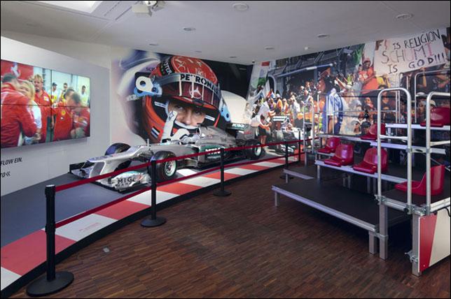 Один из залов выставки