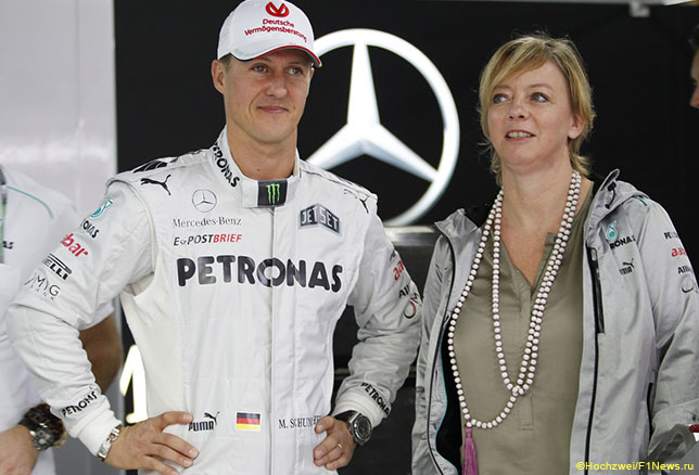 Михаэь Шумахер и Сабине Кем, Гран При Бразилии 2012 года