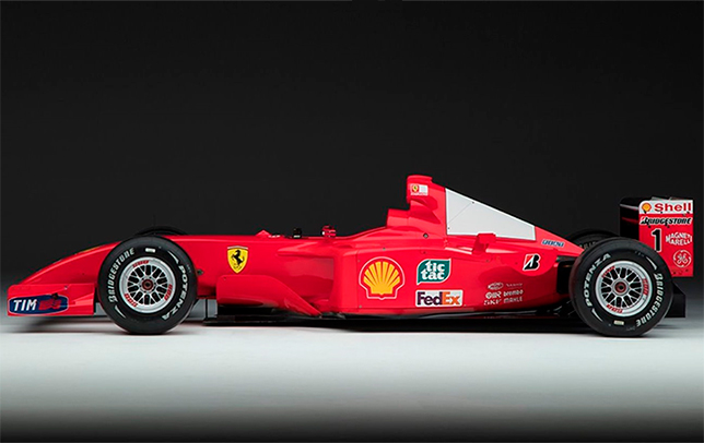 Ferrari F2001. Фото RM Sotheby's