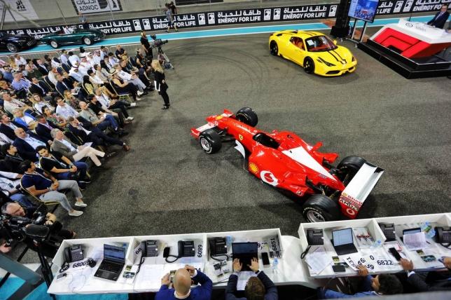Ferrari F2002 на торгах аукциона RM Sotheby's