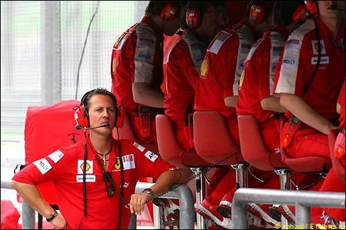 Михаэль Шумахер во время Гран При Малайзии