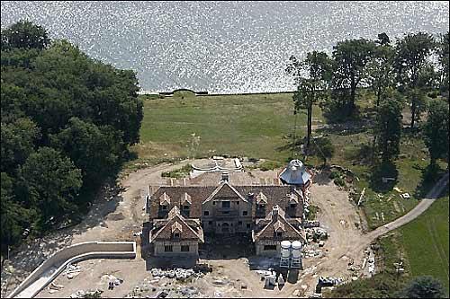 Строящееся поместье Михаэля Шумахера на Женевском озере