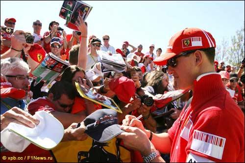 Михаэль Шумахер на Гран При Австралии 2009 года