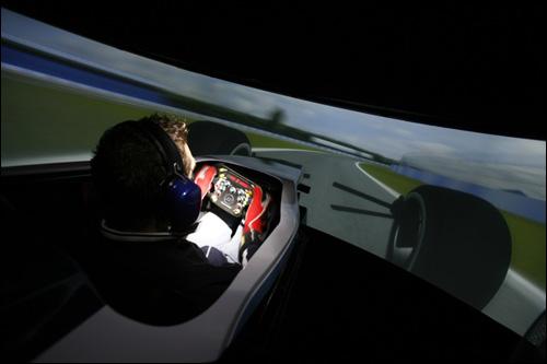 Тренажёр машины Формулы 1