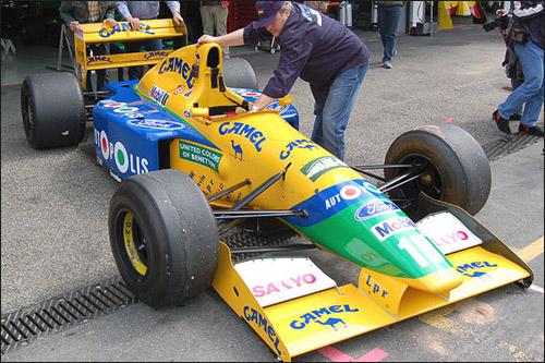 Benetton B191 Михаэля Шумахера