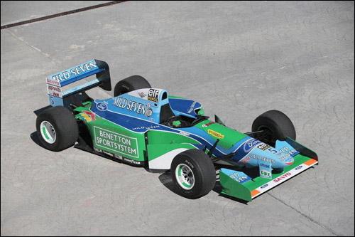Выставленный на аукцион Benetton Ford Cosworth B194