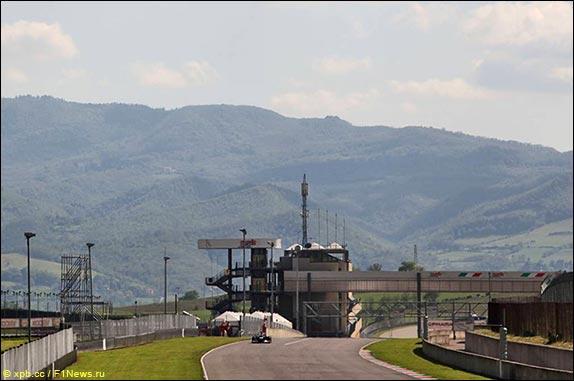 Муджелло. Фото с тестов 2012 года