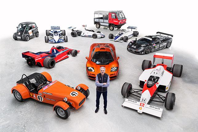 Гордон Марри и машины, им созданные