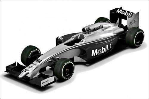 Новая расцветка машин McLaren