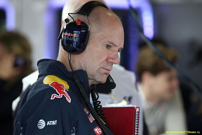 Эдриан Ньюи, руководитель технического департамента Red Bull
