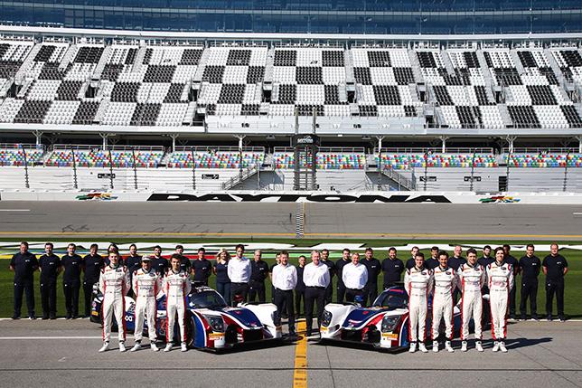 Команда United Autosports в Дайтоне