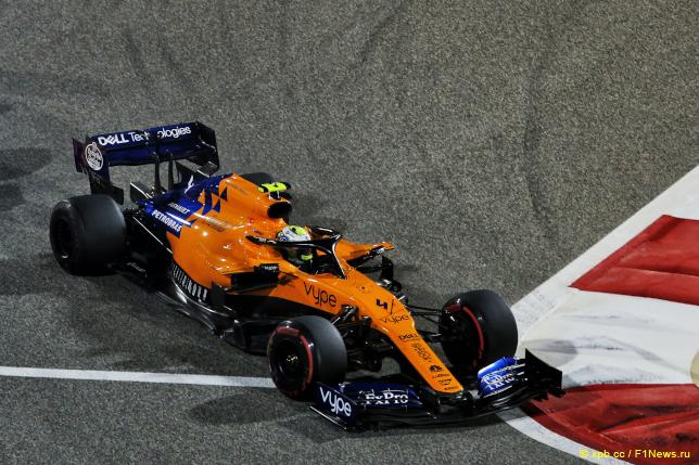 Гран При Бахрейна. Ландо Норрис