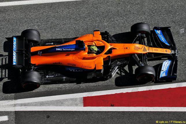 Норрис: Переход на моторы Mercedes поможет McLaren