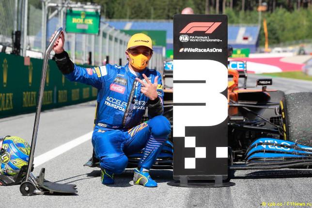 Гран При Австрии. Ландо Норрис