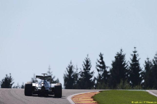 Росберг одержал победу квалификацию Гран-при Бельгии