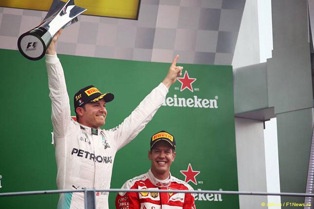Нико Росберг - победитель Гран При Италии