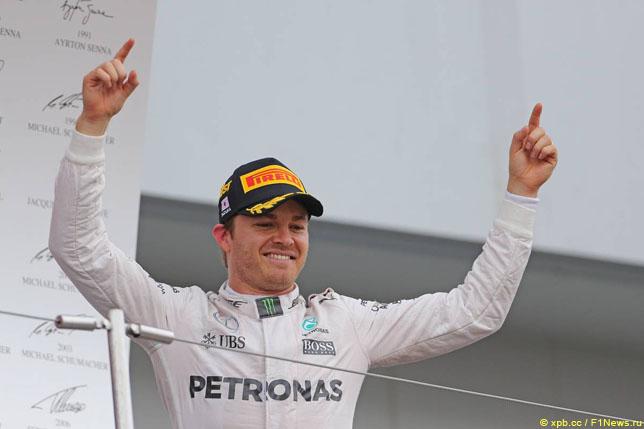 Кубок конструкторов: Росберг одержал победу Гран-при Японии, Mercedes