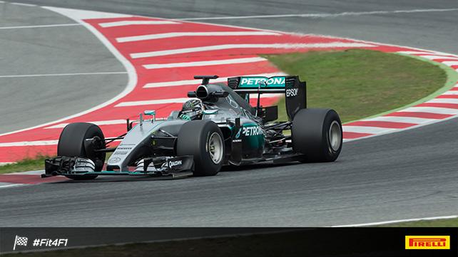 Нико Росберг на тестах Pirelli