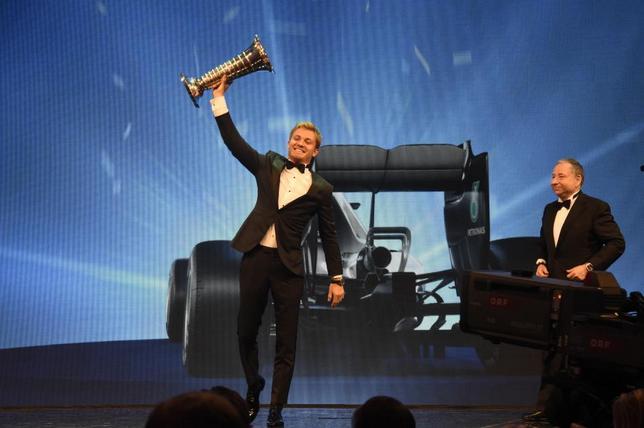 Нико Росберг на гала-церемонии FIA