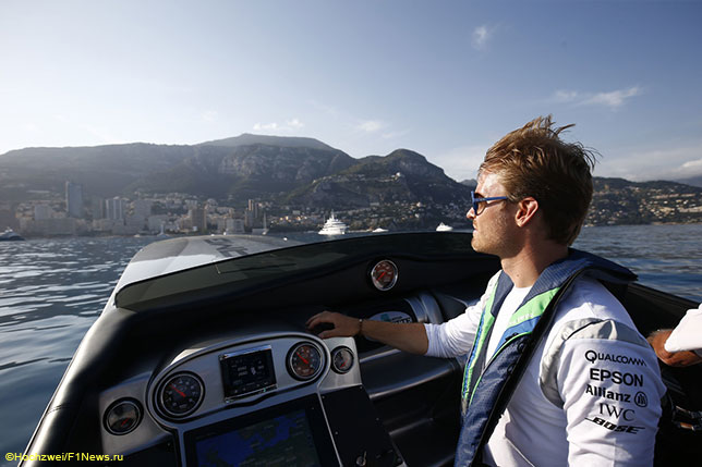 Нико Росберг в Монако