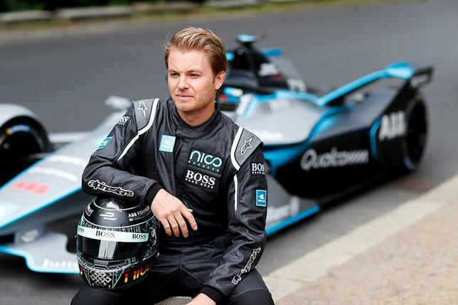 Нико Росберг, фото пресс-службы Формулы E