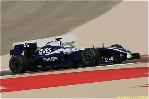 Нико Росберг во время Гран При Бахрейна