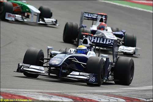 Нико Росберг на трассе Гран При Германии