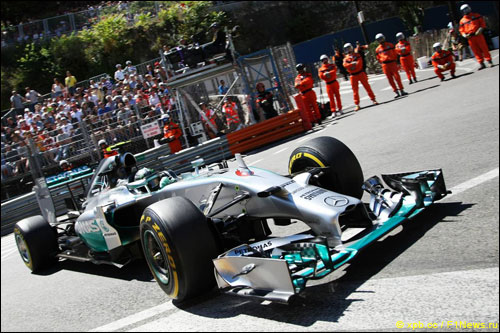 Нико Росберг на Гран При Монако