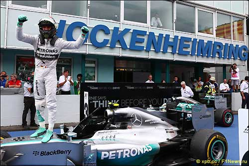 Нико Росберг - победитель Гран При Германии
