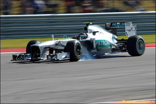 Льюис Хэмилтон на прошлогоднем Гран При США