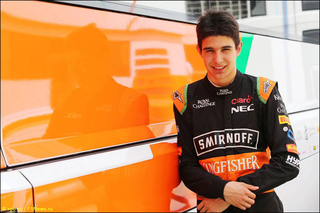 Пилот Force India: Эстебан Окон