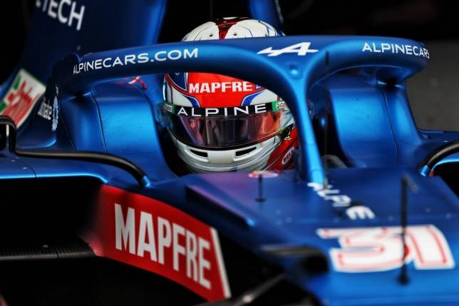 Эстебан Окон за рулём машины Alpine F1, фото XPB