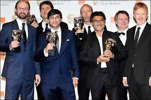 Создатели фильма Senna на церемонии BAFTA в Лондоне