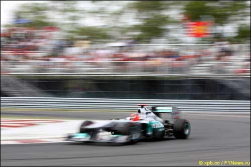 Михаэль Шумахер на Гран При Канады 2011 года