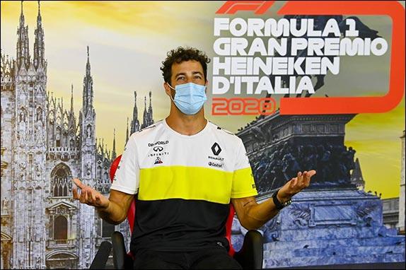 Гран При Италии: Пресс-конференция в четверг