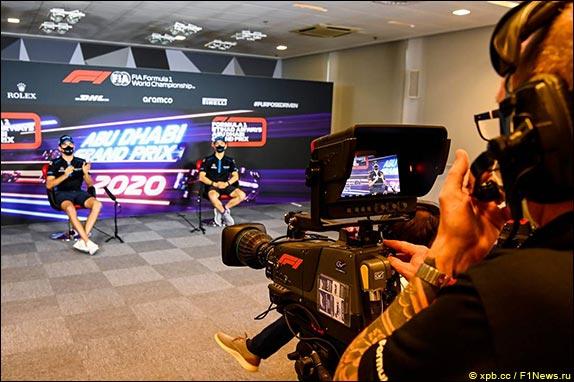 Гран При Абу-Даби: Пресс-конференция в четверг
