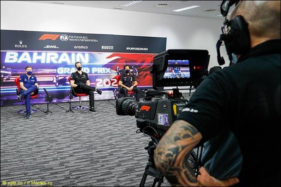 Гран При Бахрейна: Пресс-конференция в пятницу