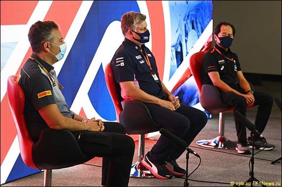 Гран При Великобритании: Пресс-конференция в пятницу
