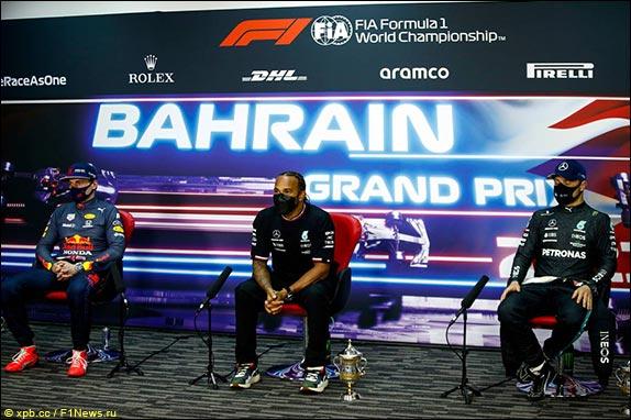 Гран При Бахрейна: Пресс-конференция в воскресенье