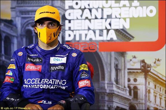 Гран При Италии: Пресс-конференция в воскресенье