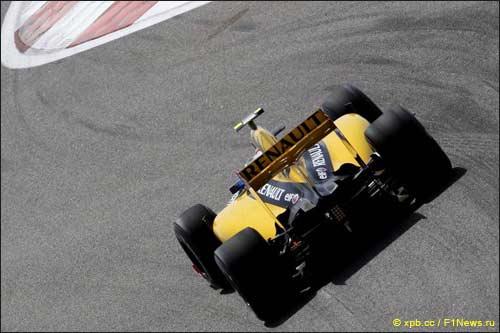 Виталий Петров на Гран При Бахрейна