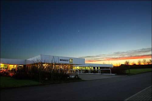База Renault F1 в Энстоуне