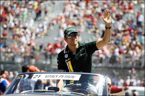 Виталий Петров на Гран При Канады