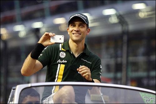 Виталий Петров на Гран При Сингапура