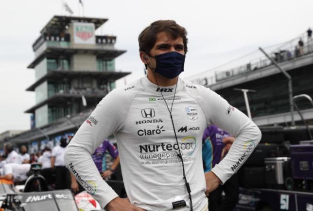 Пьетро Фиттипальди в Индианаполисе, фото пресс-службы IndyCar