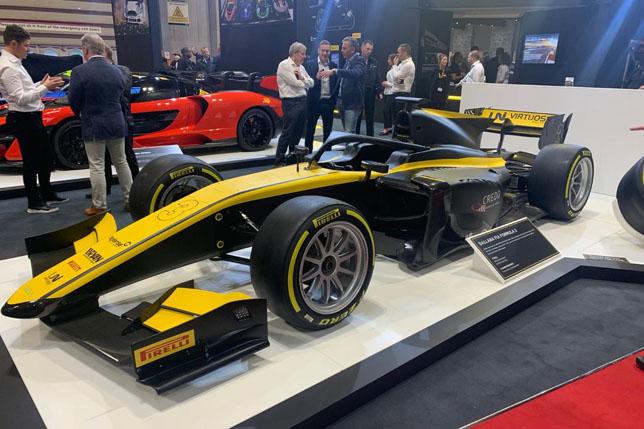 В Pirelli официально представили шины для Формулы 2
