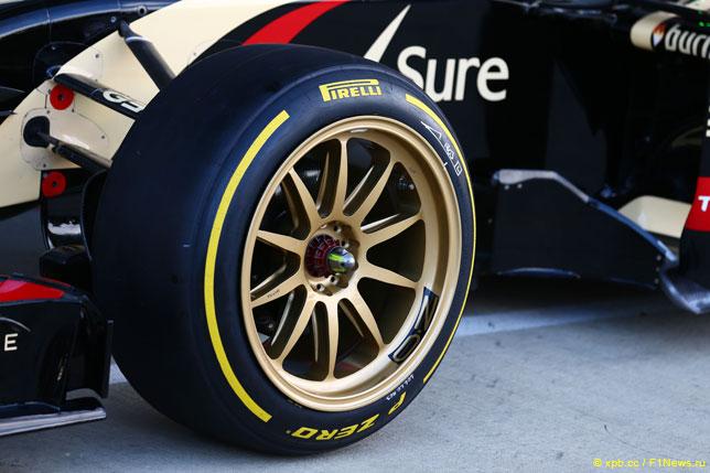 Шины Pirelli на 18-дюймовых дисках