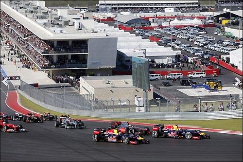 Старт Гран При США 2012 года