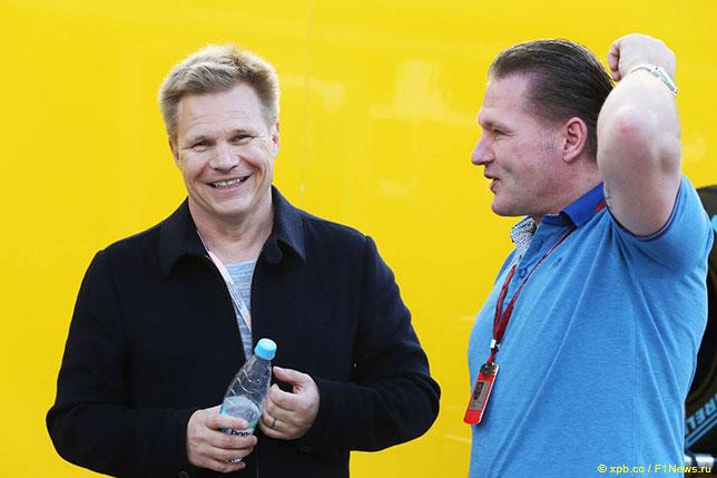 Мика Сало и Йос Ферстаппен