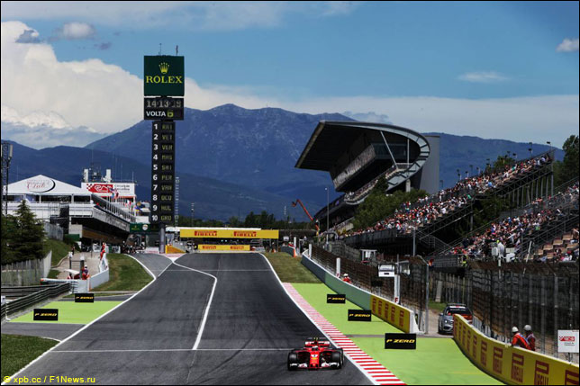 Квалификацию Гран-при Испании одержал победу  Льюис Хэмилтон
